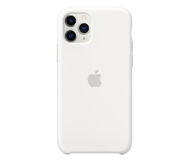 Apple Silicone Case do iPhone 11 Pro White - 514607 - zdjęcie