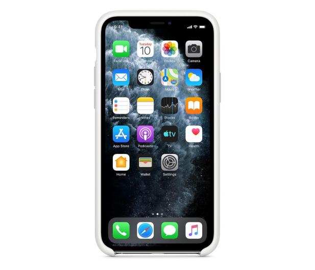 Apple Silicone Case do iPhone 11 Pro White - 514607 - zdjęcie 3