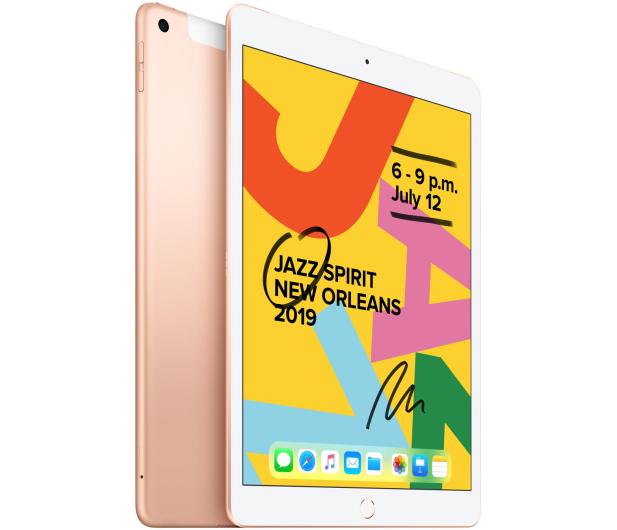 """Apple iPad 10,2"""" 128GB Gold LTE - 515900 - zdjęcie 2"""