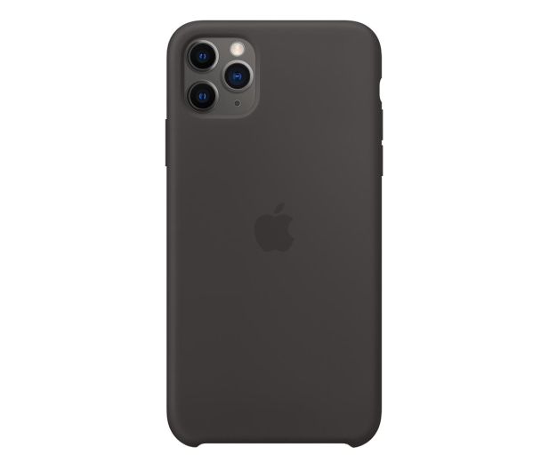 Apple Silicone Case do iPhone 11 Pro Max Black - 514610 - zdjęcie