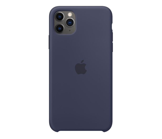 Apple Silicone Case do iPhone 11 Pro Max Midnight Blue - 514612 - zdjęcie