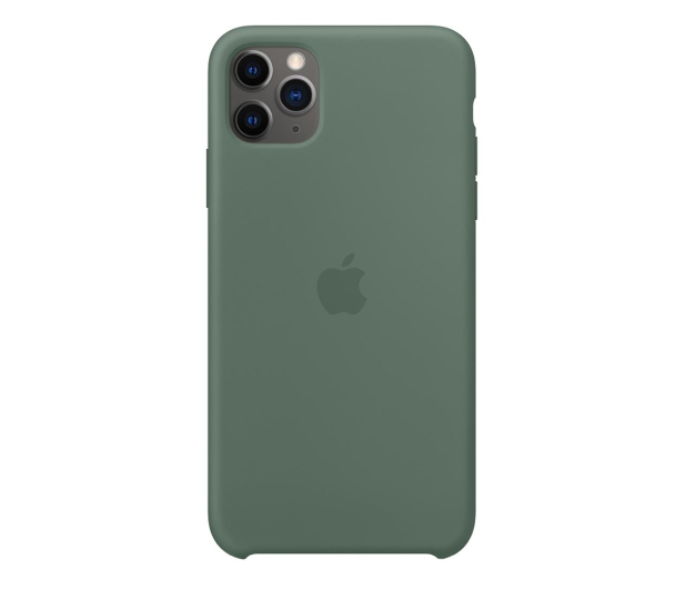 Apple Silicone Case do iPhone 11 Pro Max Pine Green - 514641 - zdjęcie