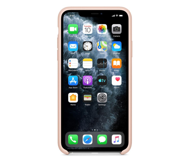 Apple Silicone Case do iPhone 11 Pro Max Pink Sand - 514636 - zdjęcie 3