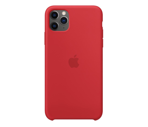 Apple Silicone Case do iPhone 11 Pro Max (PRODUCT)RED - 514613 - zdjęcie