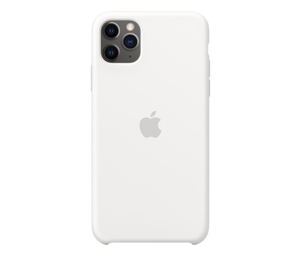 Apple Silicone Case do iPhone 11 Pro Max White - 514611 - zdjęcie