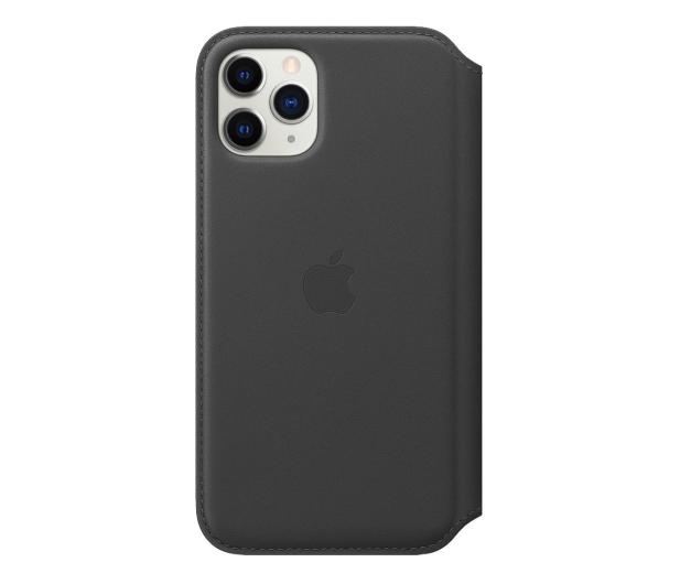 Apple Leather Folio do iPhone 11 Pro Black - 514624 - zdjęcie