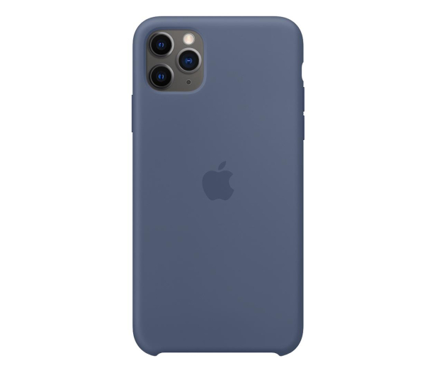 Apple Silicone Case do iPhone 11 Pro Max Alaskan Blue - 514646 - zdjęcie