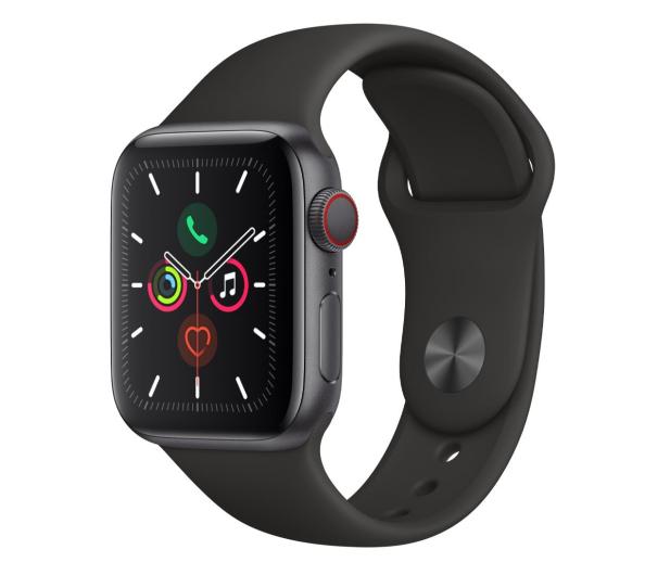 Apple Watch 5 40/Space Gray Aluminium/Black Sport LTE - 515906 - zdjęcie