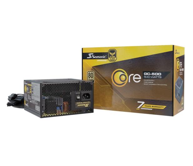 Seasonic Core GC 500W 80 Plus Gold - 514798 - zdjęcie