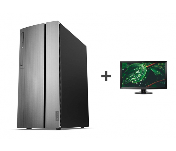 Lenovo Ideacentre 510-15 G5400/8GB/1TB/Win10 + Monitor - 515737 - zdjęcie