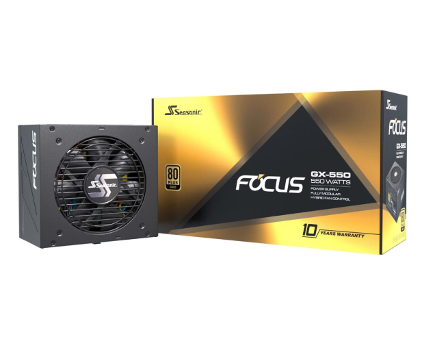 Seasonic Focus GX 550W 80 Plus Gold  - 514789 - zdjęcie