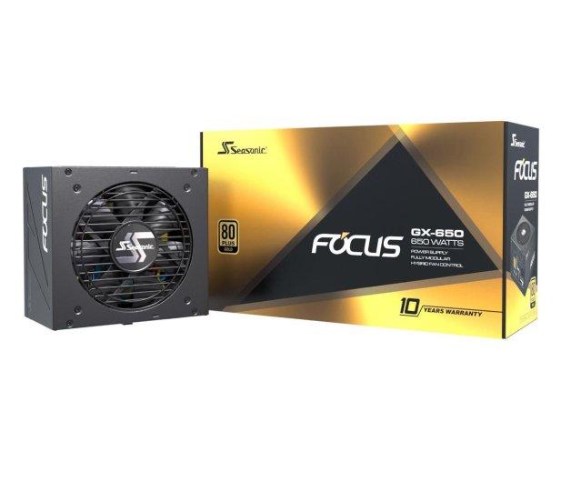 Seasonic Focus GX 650W 80 Plus Gold  - 514790 - zdjęcie