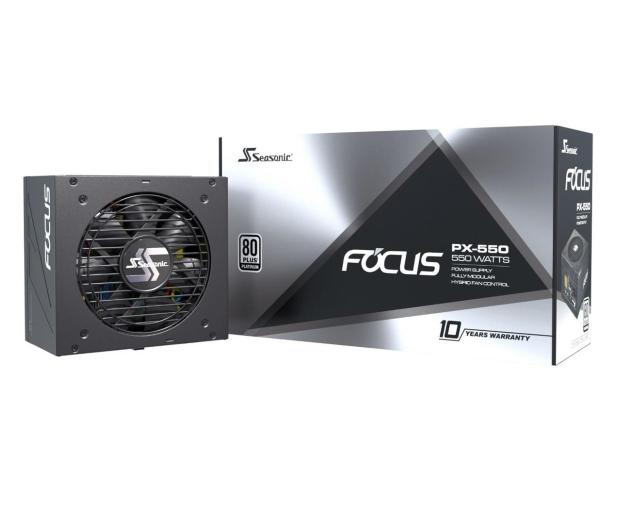 Seasonic Focus PX 550W 80 Plus Platinum  - 514785 - zdjęcie