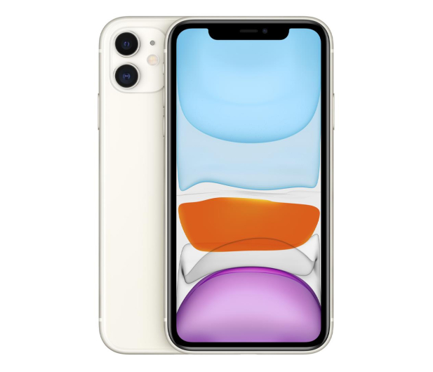 Apple iPhone 11 128GB White - 515858 - zdjęcie