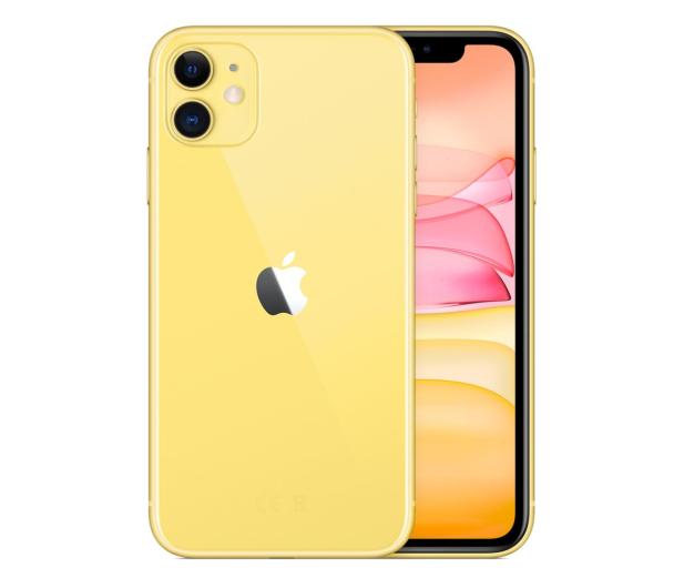 Apple iPhone 11 64GB Yellow - 515851 - zdjęcie 2