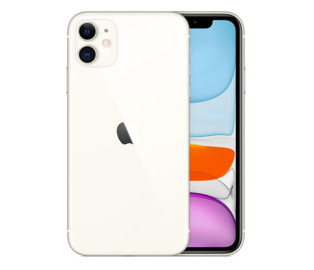 Apple iPhone 11 64GB White - 515849 - zdjęcie 2