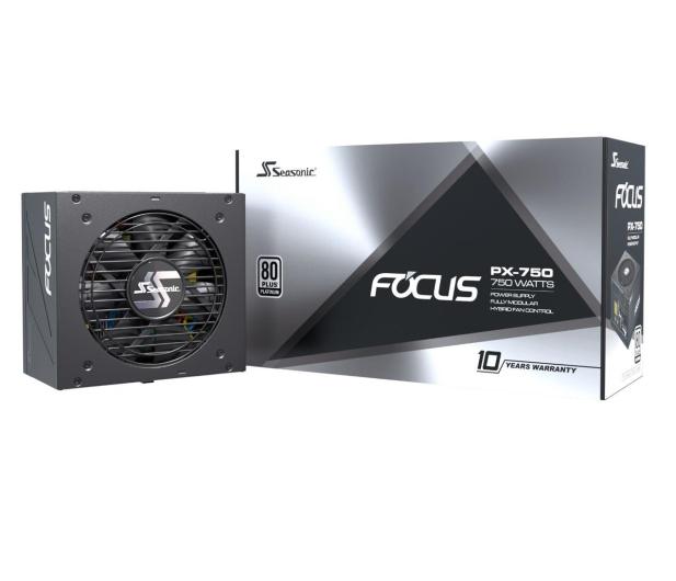 Seasonic Focus PX 750W 80 Plus Platinum  - 514787 - zdjęcie