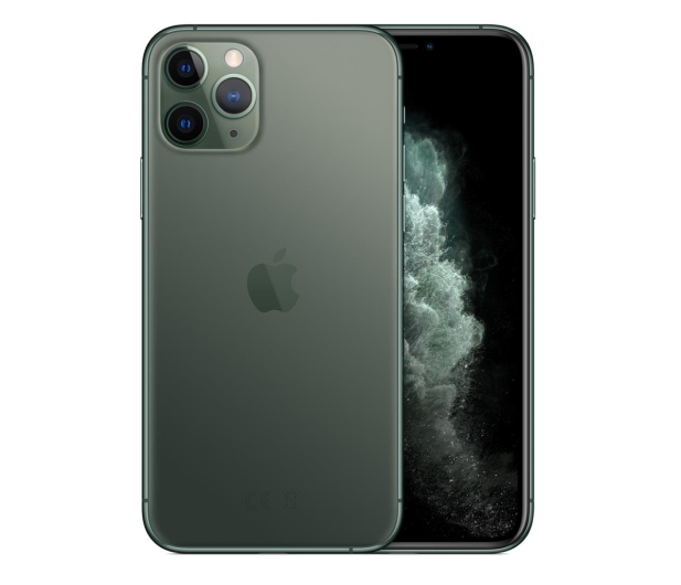 Apple iPhone 11 Pro Max 64GB Midnight Green - 515837 - zdjęcie 2
