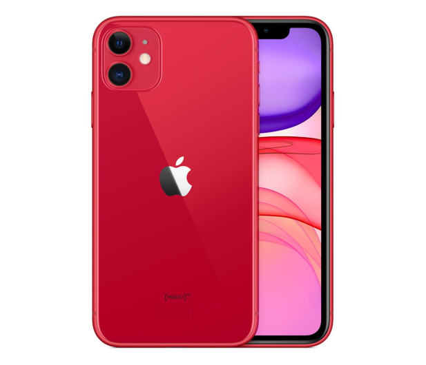 Apple iPhone 11 64GB (PRODUCT)Red - 515854 - zdjęcie 2