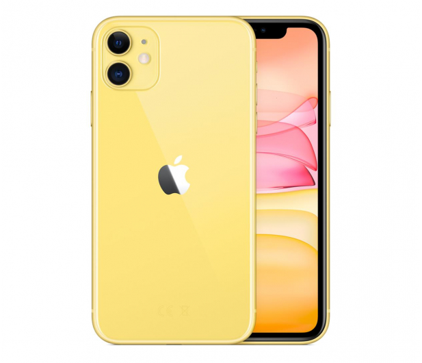Apple iPhone 11 256GB Yellow - 515866 - zdjęcie 2