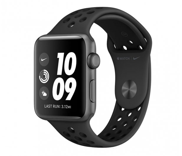 Apple Watch 3 Nike+ 38/Space Gray/Black Sport GPS - 516113 - zdjęcie