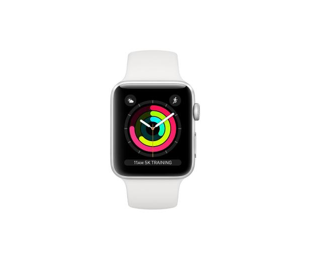 Apple Watch 3 42/Silver/White Sport GPS - 516120 - zdjęcie 2