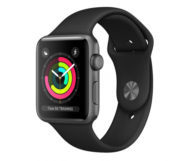 Apple Watch 3 42/Space Gray/Black Sport GPS - 516123 - zdjęcie