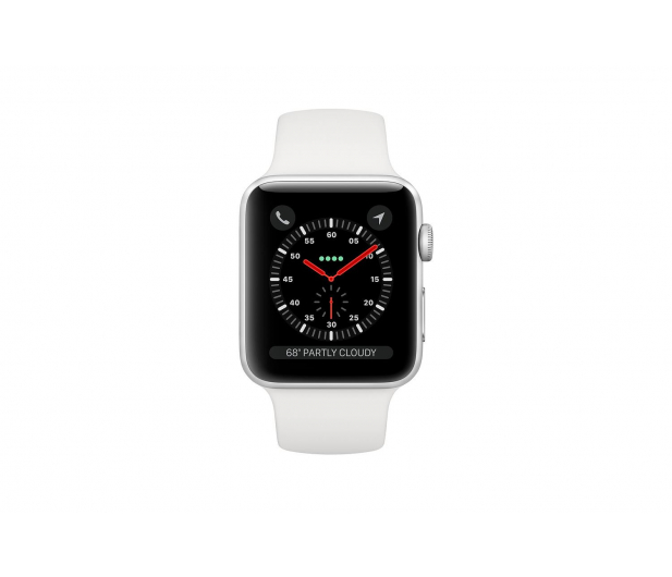 Apple Watch 3 38/Silver/White Sport LTE - 516124 - zdjęcie 2