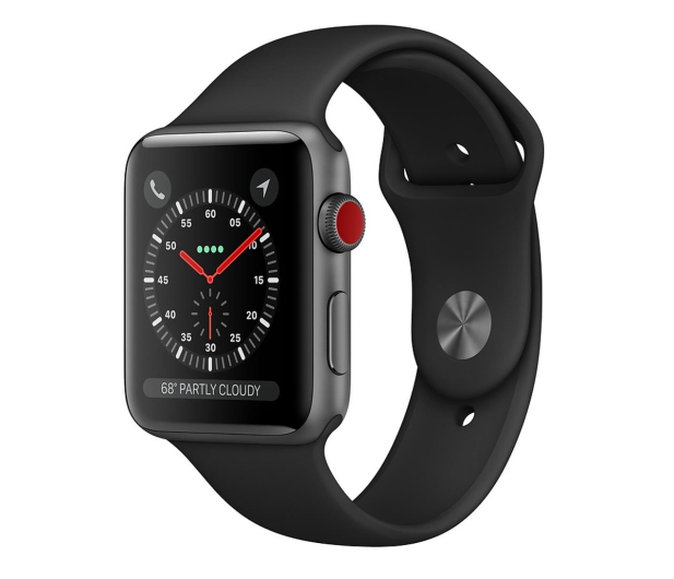Apple Watch 3 42/Space Gray/Black Sport LTE - 516128 - zdjęcie