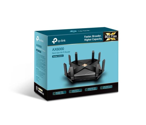 TP-Link Archer AX6000 (6000Mb/s a/b/g/n/ac/ax) 2xUSB - 516490 - zdjęcie 4