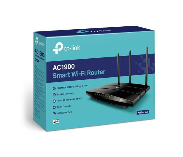 TP-Link Archer A9 (1900Mb/s a/b/g/n/ac) USB DualBand  - 516477 - zdjęcie 4