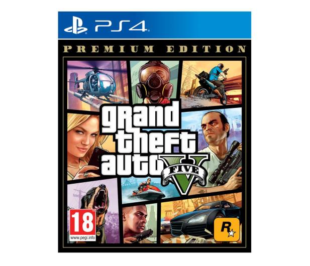 PlayStation Grand Theft Auto V Premium Edition PL - 516313 - zdjęcie