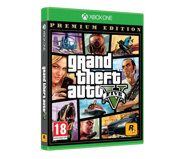 Xbox Grand Theft Auto V Premium Edition PL - 516314 - zdjęcie 2