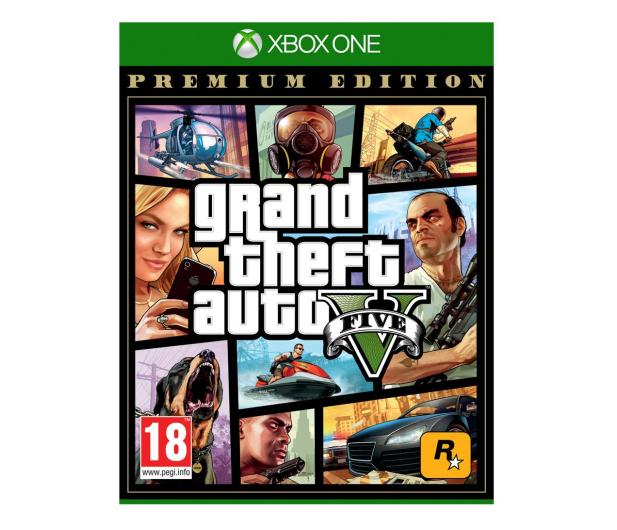Xbox Grand Theft Auto V Premium Edition PL - 516314 - zdjęcie