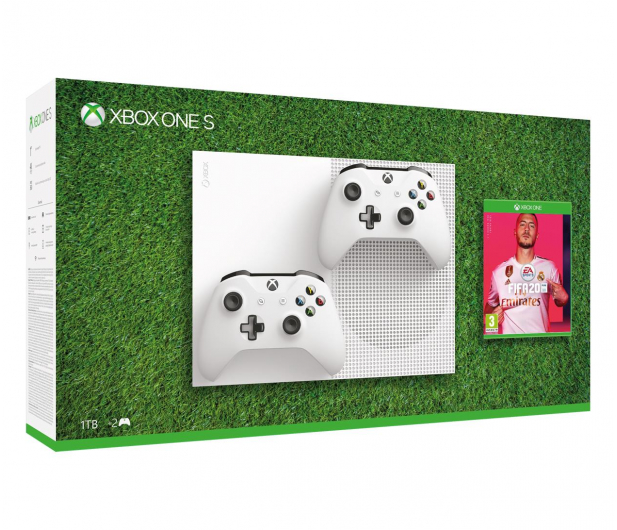 Microsoft Xbox One S 1TB + Pad + Fifa 20 - 516414 - zdjęcie