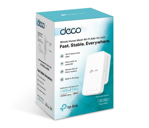 TP-Link DECO M3W Dodatkowy Mesh WiFi (1200Mb/s b/g/n/ac) - 515748 - zdjęcie 3