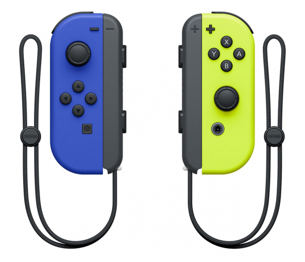 Nintendo Switch Joy-Con Controller - Blue/N Yellow (pair) - 516738 - zdjęcie