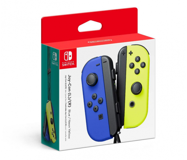 Nintendo Switch Joy-Con Controller - Blue/N Yellow (pair) - 516738 - zdjęcie 2