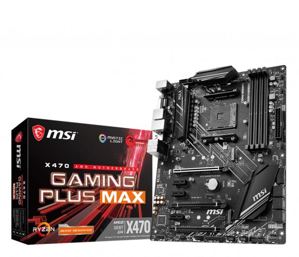 MSI X470 GAMING PLUS MAX - 516153 - zdjęcie