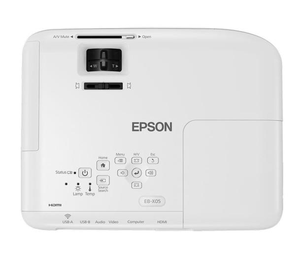 Epson EB-X05 3LCD - 515441 - zdjęcie 5
