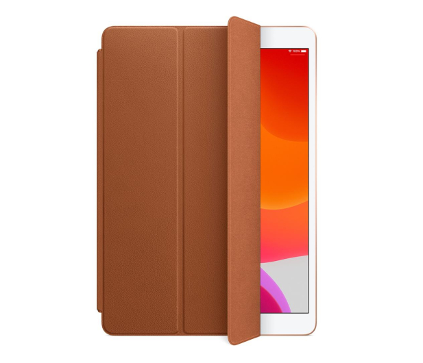 Apple Leather Smart Cover do iPad 7gen / Air 3gen brąz - 516287 - zdjęcie