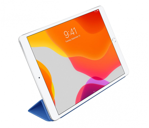 Apple Leather Smart Cover do iPad 7gen / Air 3gen Blue - 516288 - zdjęcie 3