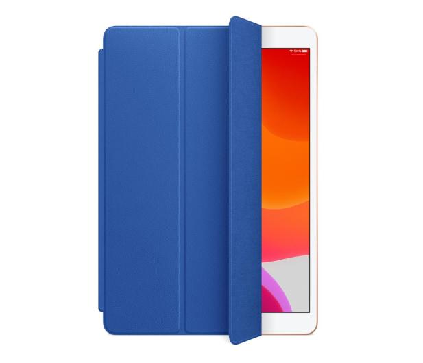 Apple Leather Smart Cover do iPad 7gen / Air 3gen Blue - 516288 - zdjęcie