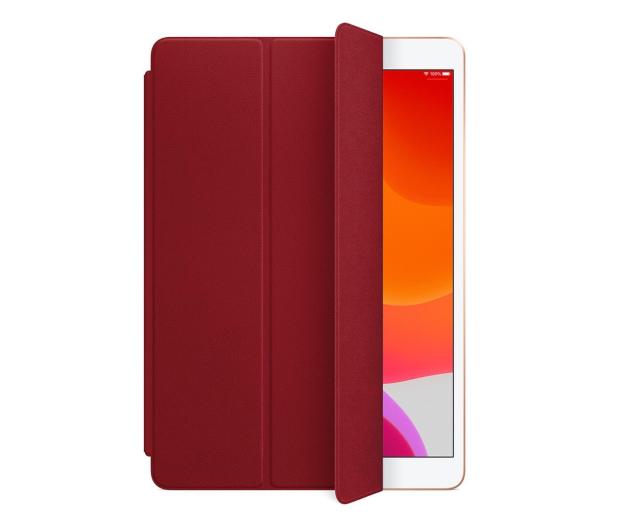 Apple Leather Smart Cover do iPad 7gen / Air 3gen Red - 516281 - zdjęcie