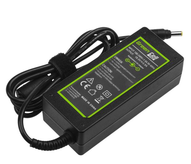 Green Cell Zasilacz do HP 65W (3.5A, 4.8-1.7mm) - 516494 - zdjęcie