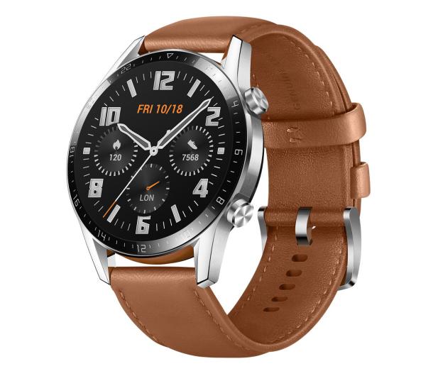 Huawei Watch GT 2 46mm Classic srebrny - 514704 - zdjęcie