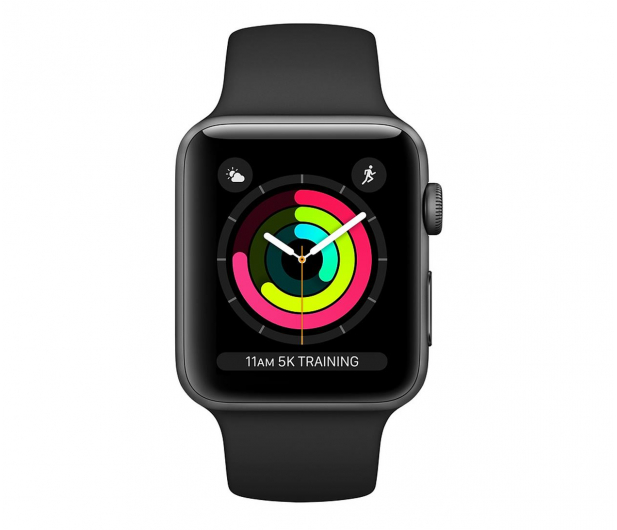 Apple Watch 3 38/Space Gray Aluminium/BlackSport GPS  - 464941 - zdjęcie 2