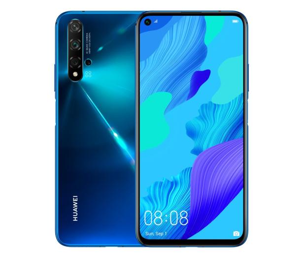 Huawei Nova 5T 6/128GB niebieski - 518287 - zdjęcie