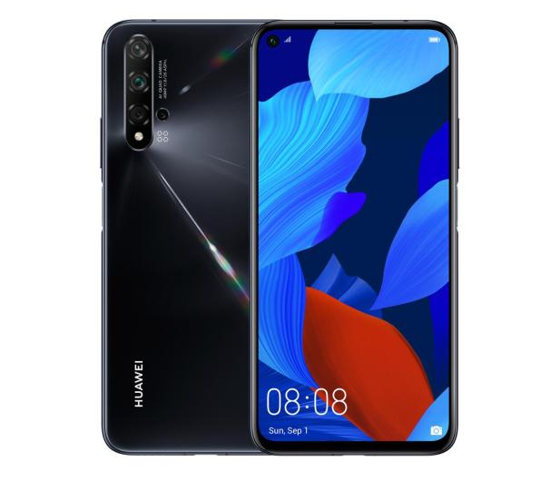 Huawei Nova 5T 6/128GB czarny - 518286 - zdjęcie