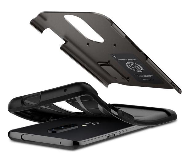Spigen Slim Armor do OnePlus 7 Pro Gunmetal  - 508964 - zdjęcie 2